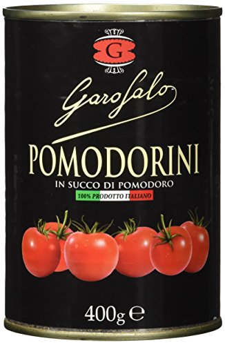 Garofalo Cherrytomaten in Tomatensaft, 8er Pack (8 x 400 g)