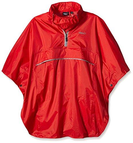 AGU Kinder Poncho Track, rot, One Size, 432250