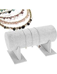 Display Storage Stand Hairband Hairpin Jewelry Holder Accesorio para el pelo Accesorio de exhibición(blanco)
