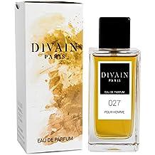 DIVAIN-027 / Similar a Acqua Di Gio de Armani / Agua de perfume para hombre, vaporizador 100 ml