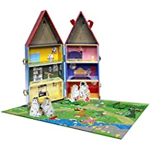 Barbo Toys Barbo TOYS7230Moomin House con puzzle e figure