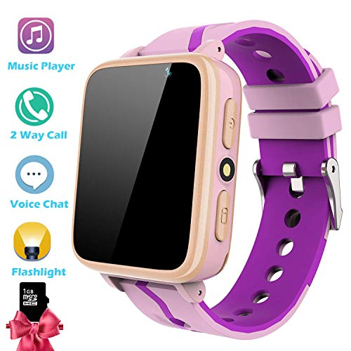 SmartWatch para Niños con Reproductor de Música - Teléfono Reloj para Niños...