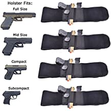 Nianpu Belly Band Gun fessure laterali Draw sinistra o destra fascia addominale pistola fondina