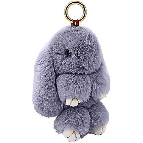 FEC Pelliccia di coniglio borsa Toy Ciondolo