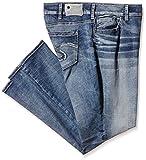 Silver Jeans Damen Straight Leg Jeanshose Suki Mid, Gr. W40/L32 (Herstellergröße: 20), Blau (Indigo SIB128)