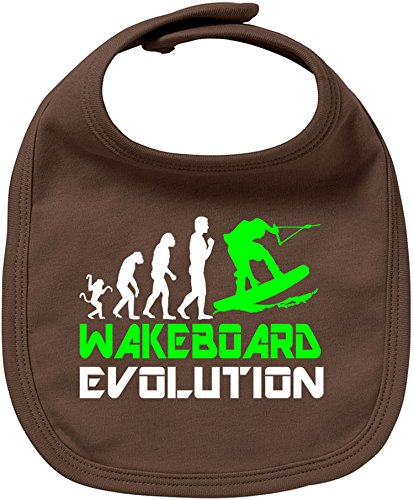 EZYshirt® Wakeboard Evolution Baby Lätzchen Halstuch