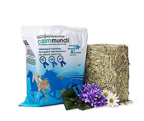 Calmmunch - A Salutare, Tasty, Basso Calorie, Basso Contenuto Di Zucchero, Alto Fibra Snack Per Ansioso O Eccitabili Cavalli & Pony - 5 x 1kg
