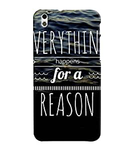 Mental Mind 3D Printed Plastic Back Cover For HTC Desire 816 - 3DHTC816- G282