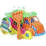 PYRUS Juguetes plástico de playa para niños, juguetes para el baño, diseño de total 11 pieces