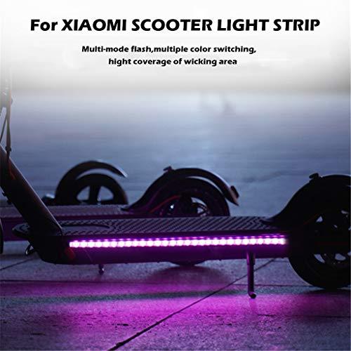 Hengzi Elektrischer Roller-Faltbare geführte Streifen-Lichter leuchten bunt für Xiaomi M365