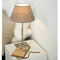 PPSAERTE®E27 IKEA Lampada Da Tavolo Da Letto Soggiorno Lampada Da Comodino  Stile Semplice E