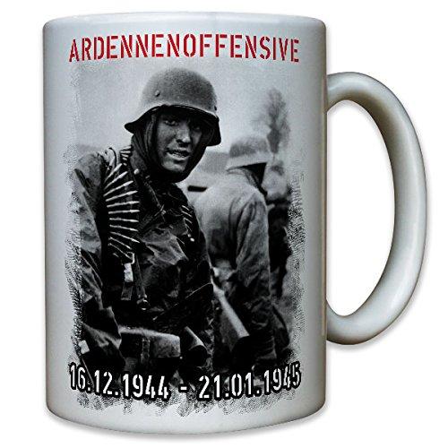 Deutscher Soldat Ardennenoffensive 1944 Wh Unternehmen Wacht am Rhein Deutschland- Tasse Kaffee Becher #9883