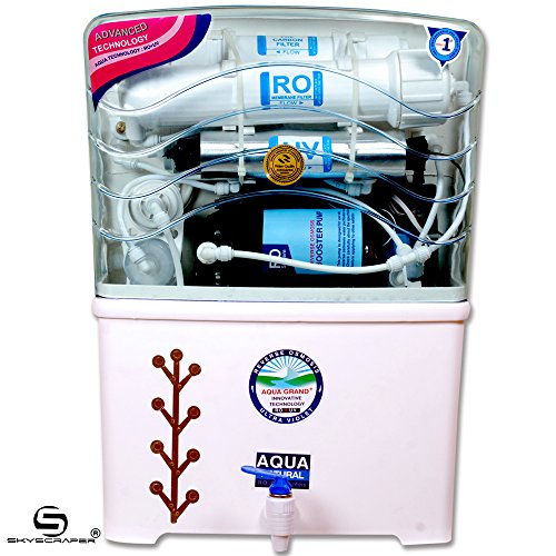 Aquagrand Plus Star 12 L RO + UV + UF + TDS Water Purifier