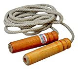 #9: Henco Cotton Stamina Jumping Skipping Rope, 275 cm x 2 cm (Multi-Colour)