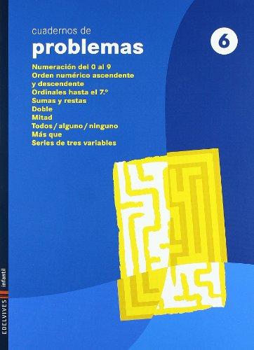 Cuaderno 6 de Problemas (Infantil)