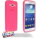 Muzzano F95645 - Funda para Samsung Galaxy Grand 2, incluye 3 protectores de pantalla, color rosa