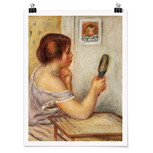 Bilderwelten Poster Auguste Renoir - Gabrielle mit Spiegel Selbstklebend seidenmatt 40 x 30cm