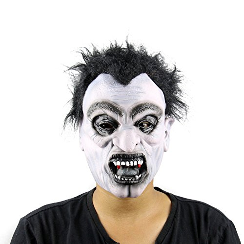 ty Vampire Maske Dummkopf 's Day Halloween Party Party Pr?sentation Requisiten (Zombie-maske Pferd)