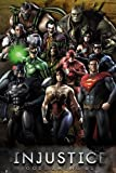 Injustice Gods Among US poster (61cm x 91,5cm) + a free Surprise poster.