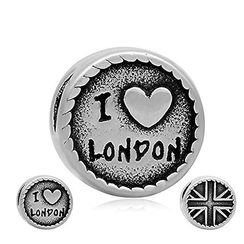 Andante-Stones Silber Bead UK