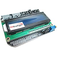 HiLetgo® LCD1602 Character LCD Input Output Expansion Board LCD Keypad Shield