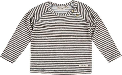 Papfar Soft Velvet Baby Sweatshirt Sweat-Shirt Multicolore (Chateau Grey 417), 62 cm (Taille du Fabricant: 3M) Mixte bébé