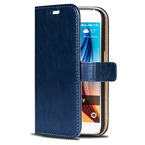 CoolGadget Premium Wild Wallet Case Tasche für Samsung Galaxy S3 Mini in...