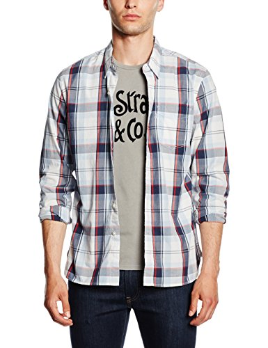 Levi's Herren Freizeithemd Sunset 1 Pocket Mehrfarbig (C32383 Ceylon Cashmere Blue Plaid MT-PD162216)