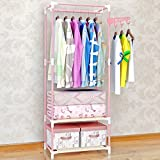 generic Perchero rack colgador aterrizaje-dormitorio creativo moda ropa interior,Color de rosa