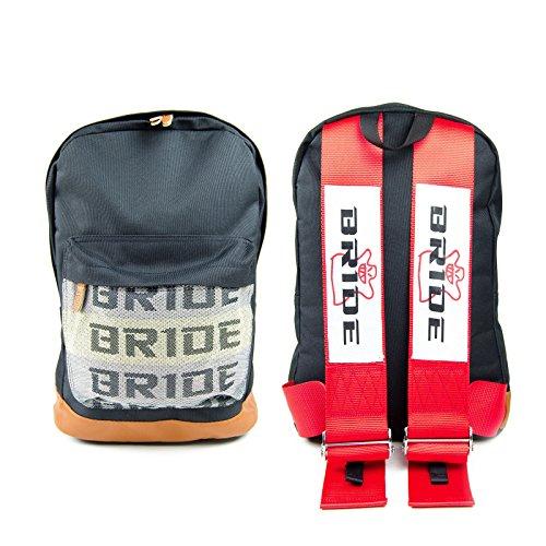 JDM Racing Braut Rucksack Geschirr Schulterriemen Reißverschluss Taschen mit gepolstertem Computer Fach von heydreamer