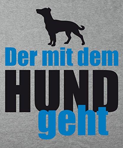 ::: DER MIT DEM HUND GEHT ::: Boys T-Shirt Sports Grey