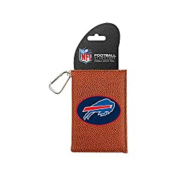 NFL Buffalo Bills Classic Football ID Holder, One Size, Brown
