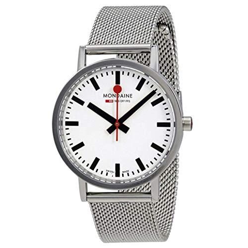 Mondaine Classic Unisex Wristwatch 36mm Quartz A6603031411SBMS