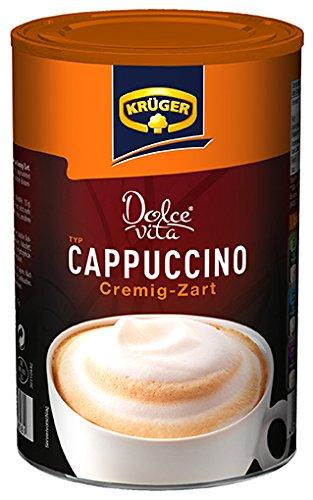 KRÜGER Dolce Vita Cappuccino Crème Dose, 8er Pack (8 x 0.2 kg)