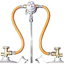 Gasversorgung Umschaltanlage MULTIMATIK 30 mbar Prüfventil + 2 HD-Schl. 10mm