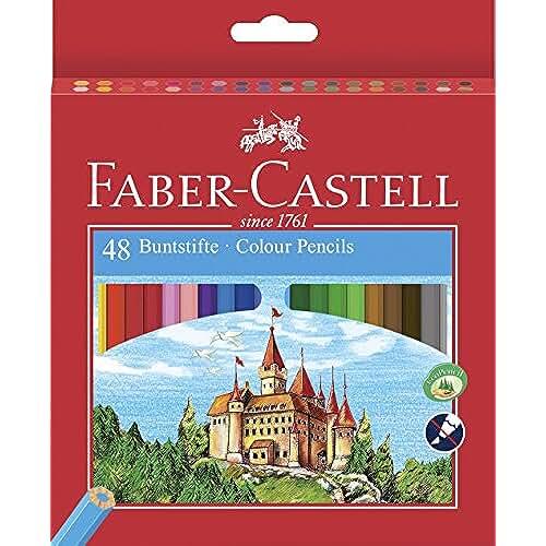 mas dibujos kawaii Faber-Castell Castle - Lápiz de color (Madera, Multi)