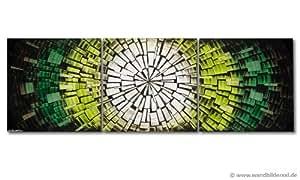 Tableau sur châssis « Light of Hope » 210x70cm 100% peinture à la main