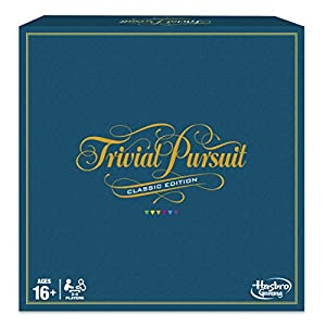 Hasbro Gaming C1940 Trivial Pursuit Game: Classic Edition
