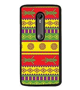 Fiobs Designer Back Case Cover for Motorola Moto G Turbo Edition :: Virat FanBox Moto G Turbo Virat Kohli (jaipur rajasthan african america cross pattern)
