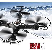 Hanbaili X5SW-1 Drone sin cámara con largo tiempo de vuelo, Altitude Hold One Key Takeoff / Landing, drones con modo sin cabeza para niños principiantes