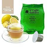 50 capsule compatibili Nespresso - Tisana Zenzero e limone - Il Caffè Italiano - FRHOME