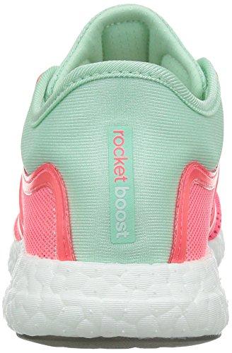 Adidas Cc Rocket Boost W, rose / vert / blanc, 6 nous pink