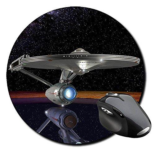 Preisvergleich Produktbild Star Trek USS Enterprise NCC-1701 G Mauspad Round Mousepad PC