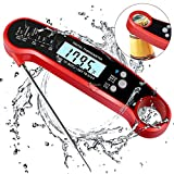 Digital Food Thermometer,Instant Read Meat Thermometer For Grill And Cooking,Digital BBQ Thermometer