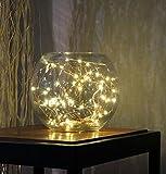✽ZEZKT-Home✽2M 20LED Weihnachts Baum LED Lichterkette Warmweiß String Licht Dekoratives Licht für Party, Garten, Weihnachten, Halloween, Hochzeit, Beleuchtung Deko (Warmweiß)
