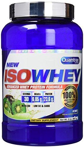 Quamtrax Nutrition QTX0294, Suplementos de Proteínas con Aroma de Kiwi, 907 gr