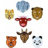 Máscaras animales de encaje