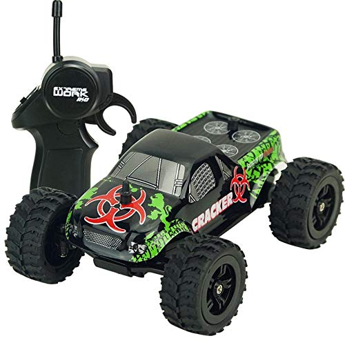 JesseBro76 1:32 4CH 2WD 2.4GHz Mini Off-Road RC Racing Car Truck Vehicle Remote Toy Black
