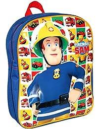 Sam Le Pompier - Fireman Sam - Enfants Sac à Dos - Hero 24 x 31 x 9 cm