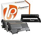 Bubprint 2 Toner & Trommel kompatibel für Brother TN-2220 TN-2010 DR-2200 für DCP-7055 DCP-7065DN HL-2130 HL-2270DW MFC-7360N MFC-7460DN MFC-7860DW
